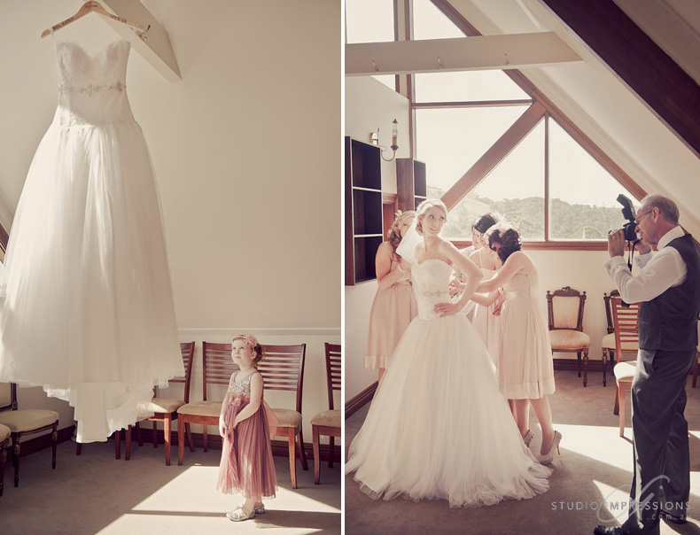 Karen Trent Got Married At Beautiful Maleny Manor And Margaret Of Hares Hair Did A Fantastic Job On Her Bridesmaids