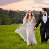 Spicers Clovelly Estate Wedding location walking in the fields