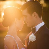 Sunshine Sun Rays Spicers Peak Lodge Wedding Romance
