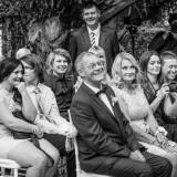 Wedding guets ceremony at Deux Belettes Byron Bay Hinterland