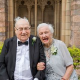 Brisbane Cathedral St John's Wedding grandparents
