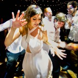 Dance Floor Ballroom at Hilton Sydney Hotel Wedding with Jewish