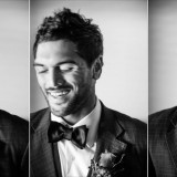 Groom Porttrait Spicers Peak Lodge Wedding vista
