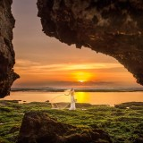 Villa LAUT Bali Padang Padang Wedding Bali Sunset Bride Location