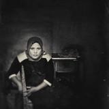 Black and White Portrait Bali Indonesia